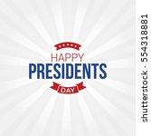 Happy Presidents Day Vector...