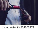 horizontal close up of... | Shutterstock . vector #554335171