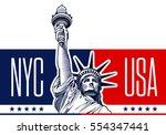 Statue Of Liberty  Nyc  Usa...