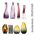 set of ceramic vases isolated...   Shutterstock . vector #554351269