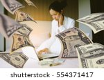 online business can make more... | Shutterstock . vector #554371417