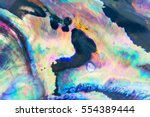 Close Up Colorful Background O...