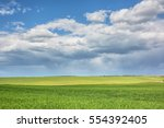 Rural Landscape   Meadows With...