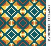 Seamless Shapes Pattern...