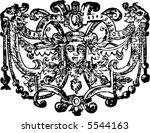 vintage 17th century style... | Shutterstock .eps vector #5544163