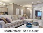 kitchen living room   Shutterstock . vector #554416309