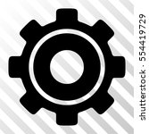 cog vector icon. illustration... | Shutterstock .eps vector #554419729