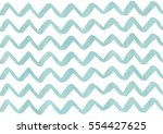 watercolor blue hand painted... | Shutterstock . vector #554427625