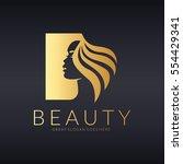 beauty logo | Shutterstock .eps vector #554429341