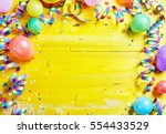 bright colorful carnival or... | Shutterstock . vector #554433529