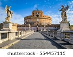 Saint Angel Castle In Rome ...