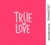 True Love   Lettering...