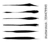 Vector Set Of Grunge Brush...