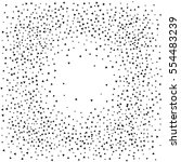 Abstract Square Dotted Surface...