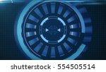 hud circle interface with...