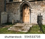 Small  Gothic Type Church Door...
