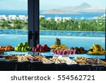 hotel snacks bar and restaurant ... | Shutterstock . vector #554562721