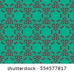 modern stylish texture.... | Shutterstock . vector #554577817