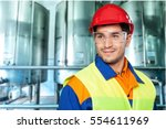 manual worker. | Shutterstock . vector #554611969
