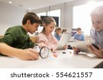 education  science  technology  ... | Shutterstock . vector #554621557