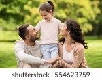 family  parenthood  adoption... | Shutterstock . vector #554623759