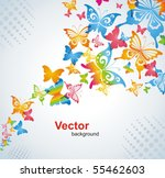 colorful background with... | Shutterstock .eps vector #55462603