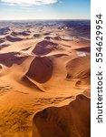 namib desert   skeleton coast   ... | Shutterstock . vector #554629954