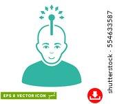 vector optical neural interface ...   Shutterstock .eps vector #554633587