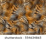 Tiger And Leopard Skin...