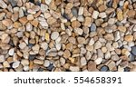 Mix Color Of Gravel Texture Or...