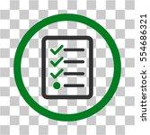 checklist vector pictograph....