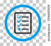 checklist vector pictogram....