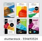 vector design for cover... | Shutterstock .eps vector #554693524