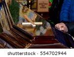 coffin | Shutterstock . vector #554702944
