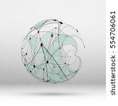 abstract geometric polygonal...   Shutterstock .eps vector #554706061
