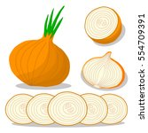 abstract vector icon... | Shutterstock .eps vector #554709391