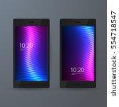 set of 2 elegant mobile phone...