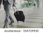 businessmen luggage business... | Shutterstock . vector #554729935