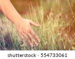 woman's hand | Shutterstock . vector #554733061