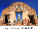 wat rat burana ancient... | Shutterstock . vector #55474336