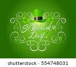 saint patrick's day... | Shutterstock .eps vector #554748031