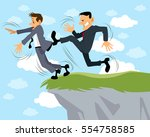 vector illustration of a... | Shutterstock .eps vector #554758585