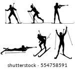 vector illustration of a six... | Shutterstock .eps vector #554758591