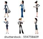 vector illustration of a six... | Shutterstock .eps vector #554758609
