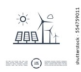 eco energy isolated minimal...   Shutterstock .eps vector #554759011