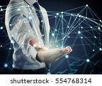 system of interconnection of...   Shutterstock . vector #554768314
