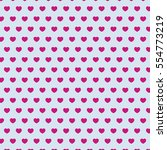 heart   pink   gray valentine... | Shutterstock .eps vector #554773219