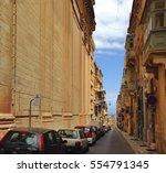 valletta malta apr.2015 typical ...   Shutterstock . vector #554791345