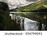 connemara  ireland. | Shutterstock . vector #554799091
