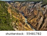 Yellowstone Canyon And...